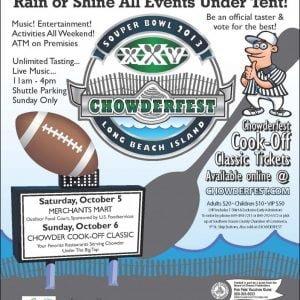 25th Annual Chowderfest on Long Beach Island