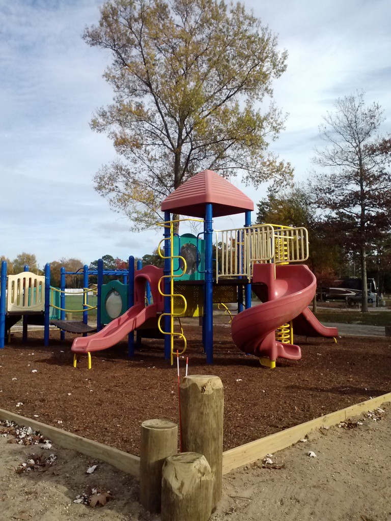 See Pirate Campground's new playground.