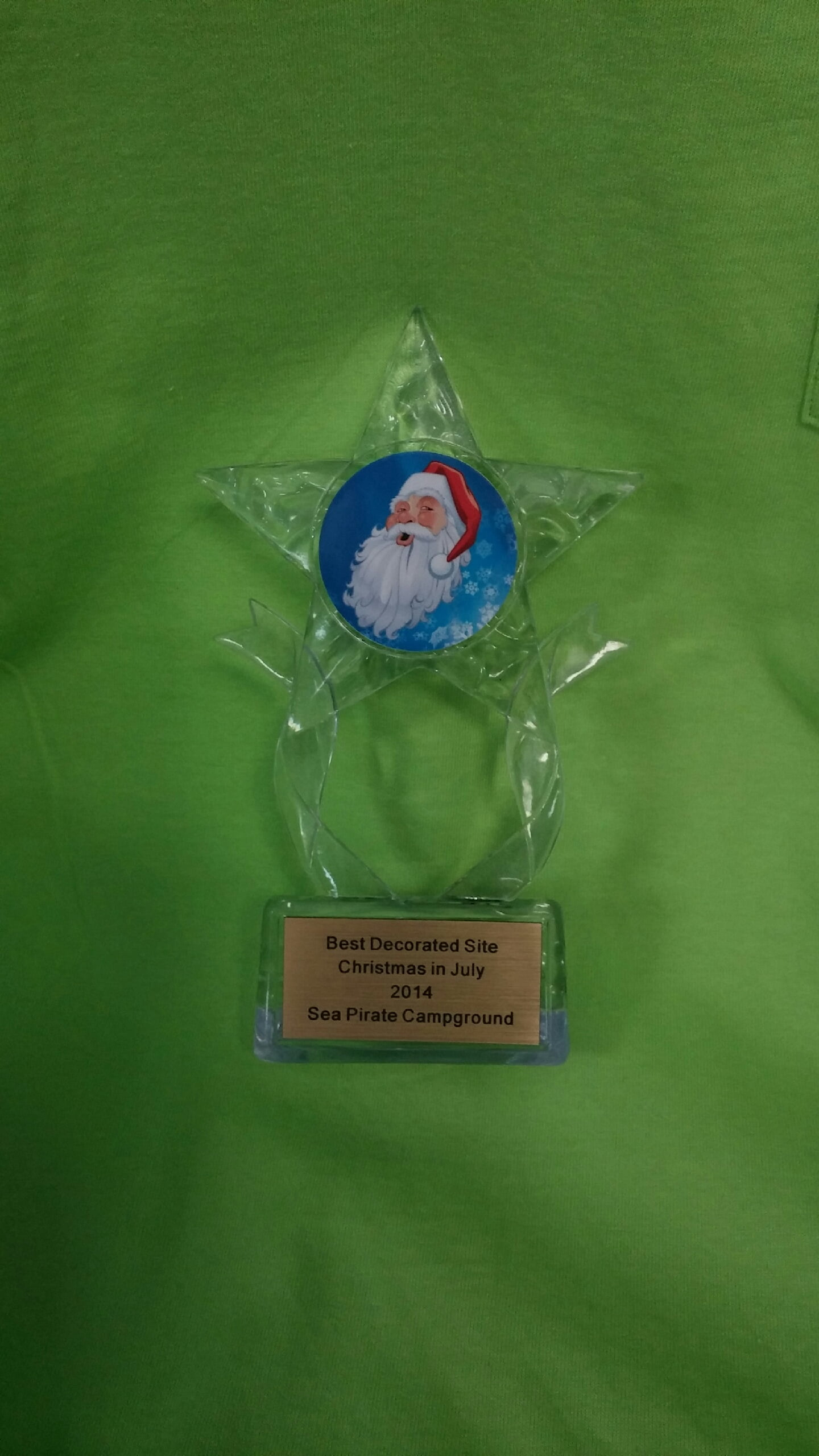 Christmas in July Site Decorating Contest Winners!