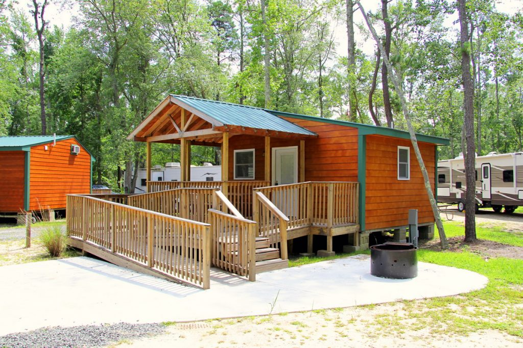 Cottages cabins rentals near lbi jersey shore for Cabin getaways in nj