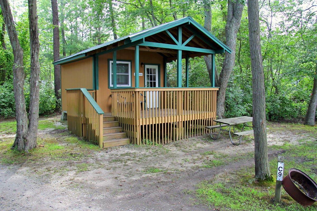 Basic Cabin Sea Pirate Campground