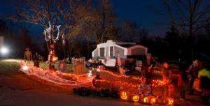 Halloween Site Decorating Contest