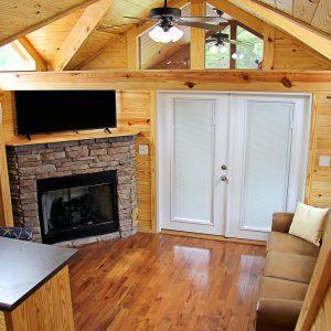 Tiny Home Living While Camping at Sea Pirate Campground