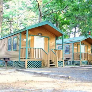 Deluxe Cabin Ready for Your Family Camping Trip 2017