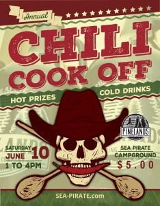 Pinelands Brewing Company Joining Chili Cook-Off