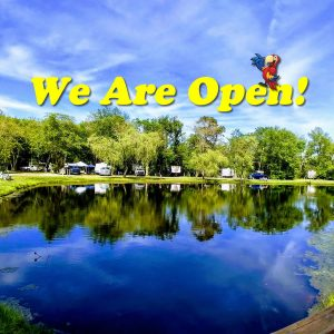 We Are Open! Welcome Campers to Sea Pirate Campground 2020