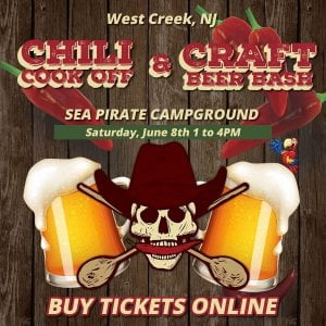 Buy your tickets online! Join us on June 8th at 1 pm for our annual Chili Cook-O…