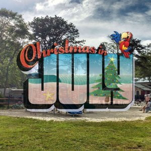 Christmas in July at Sea Pirate Campground. Please go to our profile, click our …