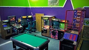 Read more about the article Come to our game room and shoot some pool, shoot hoops, race cars, play pinball….
