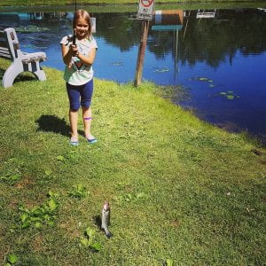 Don't forget to bring your fishing poles. Make some memories! Thank you  –  She …