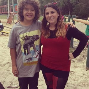 Gaten Matarazzo  from  We have stars staying at Sea Pirate Campground!          …