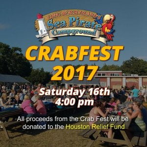 In light of recent events, all proceeds from CrabFest 2017 will be donated to th…