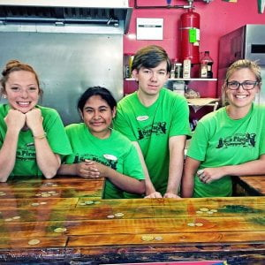 Read more about the article Meet our staff Madison, Maria, Austin and Nicole. They work in the Queen Ann's G…