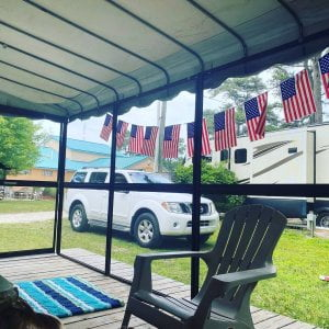 Read more about the article Our campers celebrating their way for 4th of July.  Thank you for sharing from  …