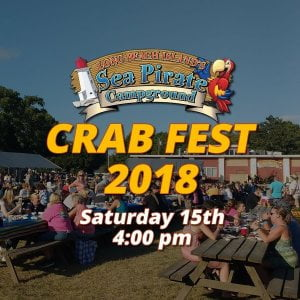 Read more about the article Our ever famous Crab Fest Weekend! It's not just crabs! There is more than enoug…
