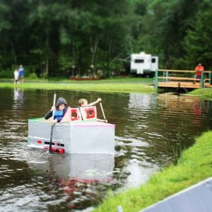 Saturday August 6th is our annual Cardboard Duct Tape Boat Regatta.  Registratio…