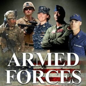 We appreciate our United States of America Armed Forces.  Book one night, get on…