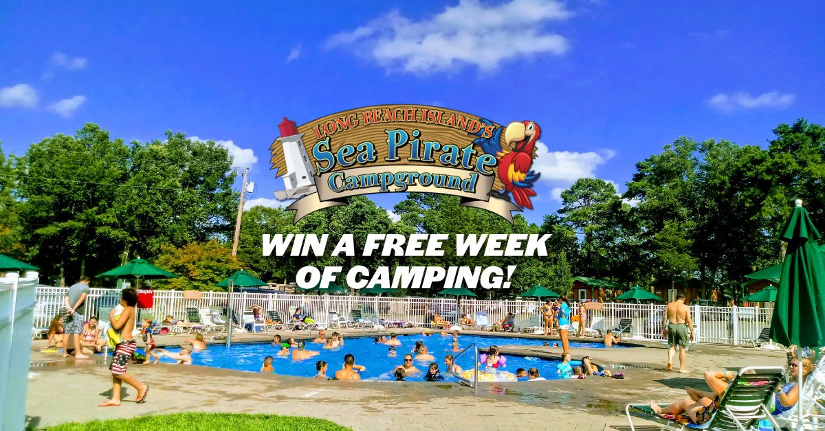 Win a Free Vacation at Sea Pirate Campground