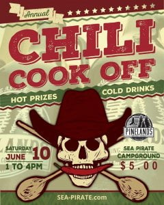 will be joining the CHILI COOK-OFF and bringing cold beers! If you want to join…