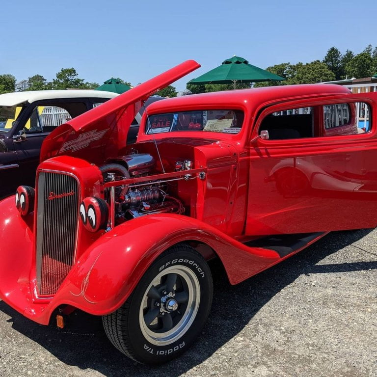 Sea Pirate Campground Car Show 2021 all proceeds go to our local Great Bay EMS S...