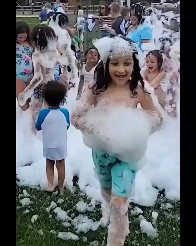 Read more about the article At Sea Pirate Campground we know how to throw a FOAM Party! Make sure to downloa…