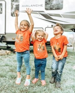 Read more about the article We love happy campers! Thank you for sharing   We are here to help you, your fam…